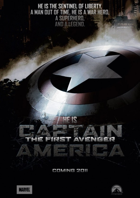 fan made �captain america� movie poster pic thinkhero